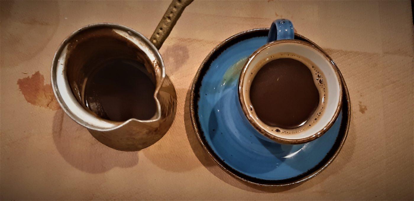 order Greek coffee