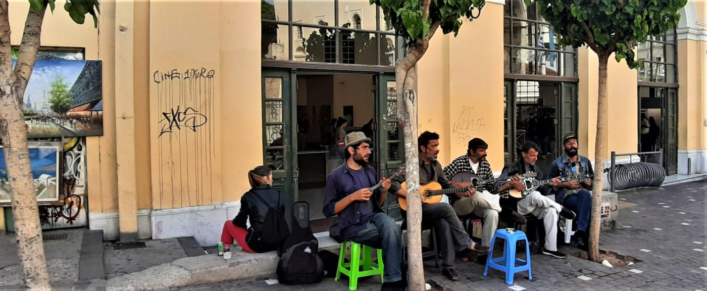 Greek rebetico music