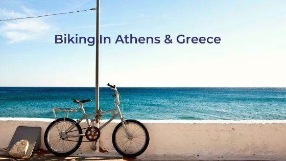 biking in greece